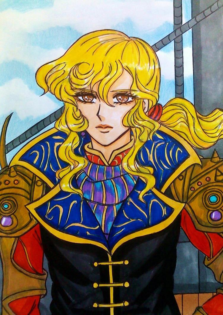 Final Fantasy V: Captain Faris Scherwiz by dagga19