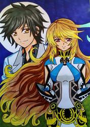Tales of Xillia 2: Jude x Milla by dagga19