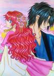 Akatsuki no Yona: Hak x Yona manga version