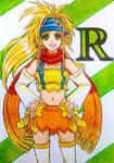 Rikku Final Fantasy X-2/ Kingdom Hearts 2 version