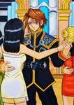 Squall x Rinoa:  Waltz for the moon