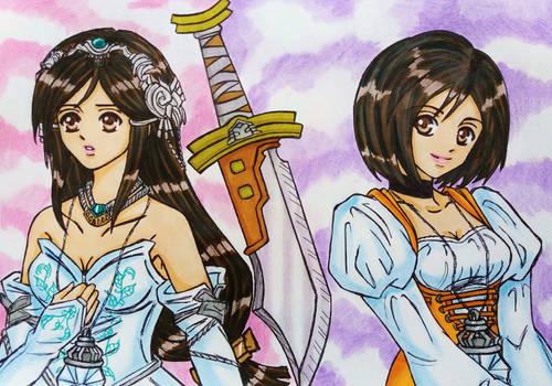 Garnet / Dagger: Two sides of a Princess