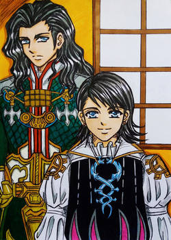 Final Fantasy XII: Larsa and Vayne Solidor