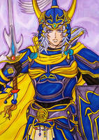 Dissidia Final Fantasy NT: Warrior of Light by dagga19