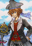 Kingdom Hearts 3 : Sora, Pirate of the Caribbean