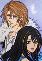 Final Fantasy VIII : Squall x Rinoa by dagga19