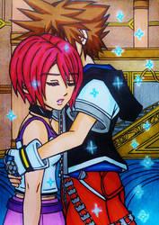 Sora x Kairi : Miracle by dagga19