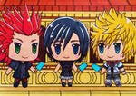 SPOILER World of KH3 : Roxas, Xion and Axel / Lea