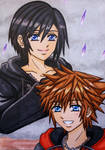 KH3 SPOILER : Sora and Xion by dagga19