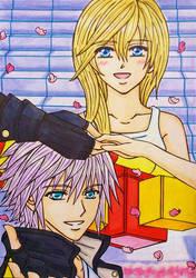 KH3 SPOILER : Riku x Namine by dagga19