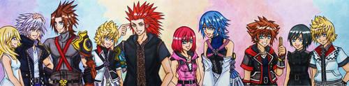 Kingdom Hearts 3 tribute : Happy End by dagga19