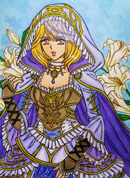 Mobius Final Fantasy : Sarah Reinheit Frau job by dagga19