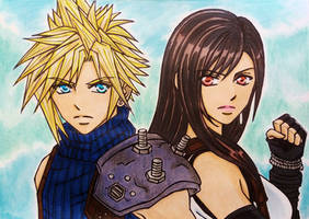 Final Fantasy 7 Remake : Cloud x Tifa