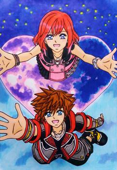 KH3REMIND SPOILER - Sora x Kairi: Reunion