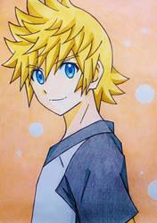 Roxas KH2 anime style