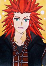 Axel / Lea KH3 anime style