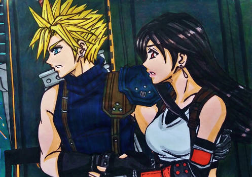 Cloud x Tifa FF7 Remake : Safe with you
