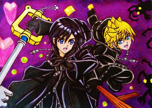 Roxas x Xion: You are my power