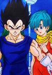 Dragon Ball Z: Vegeta X Bulma