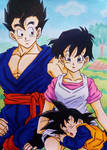 Dragon Ball Z: Gohan, Videl and Goten