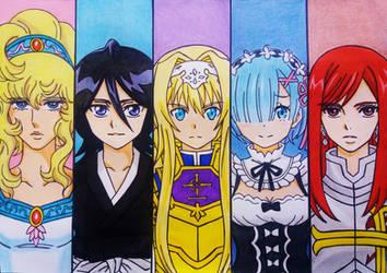 Anime Girls crossover
