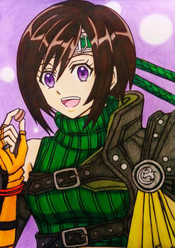 Final Fantasy VII Remake : Yuffie anime style