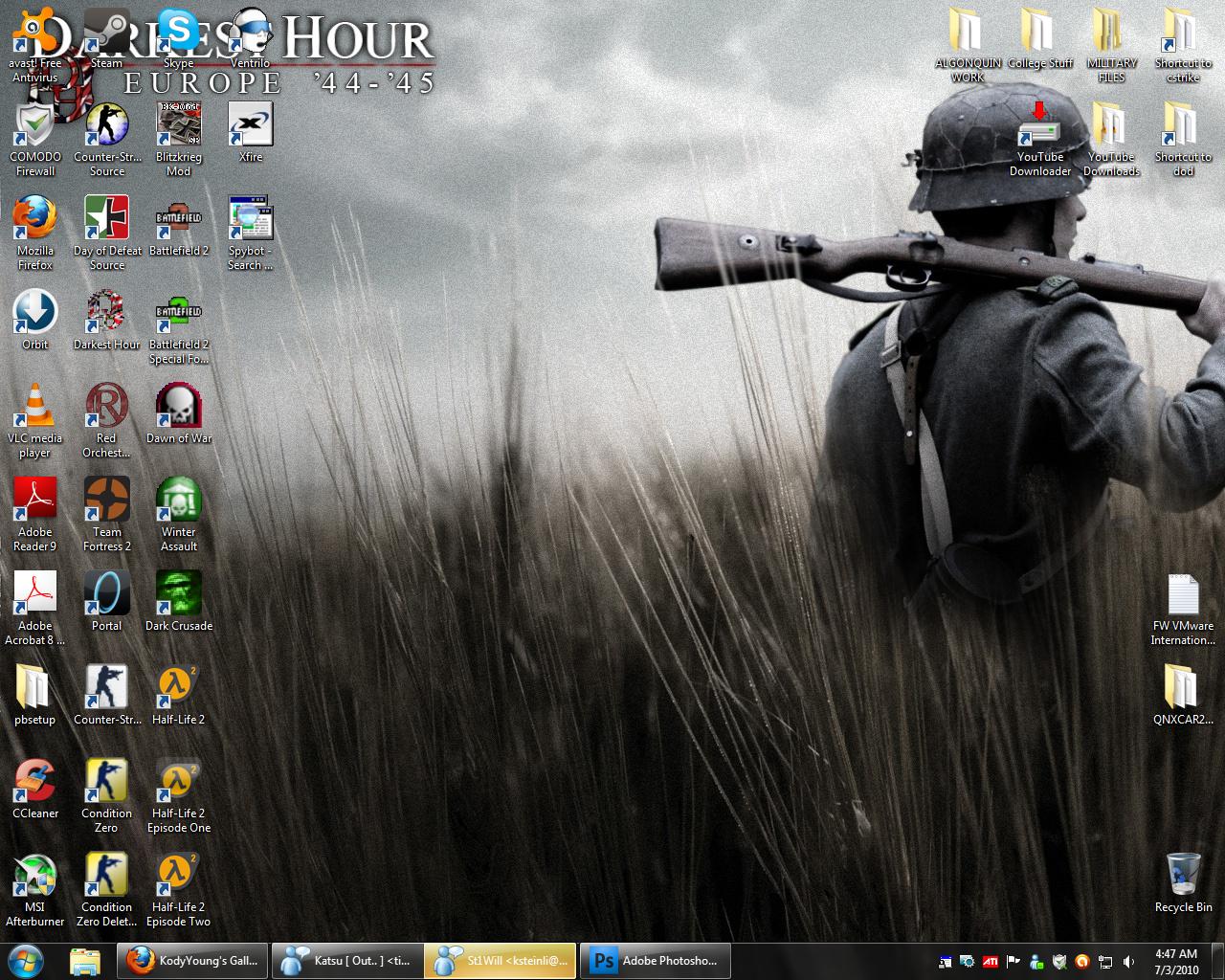 Desktop 2010 By Kodyyoung On Deviantart