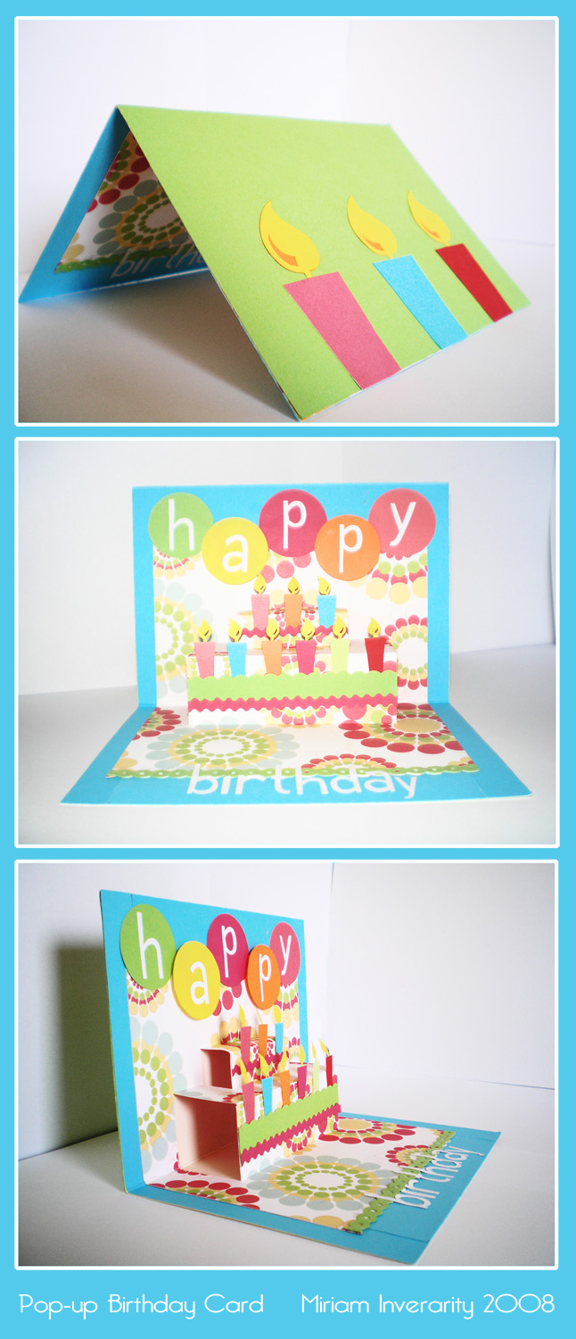 popup birthday card by supermim on deviantart, Birthday card