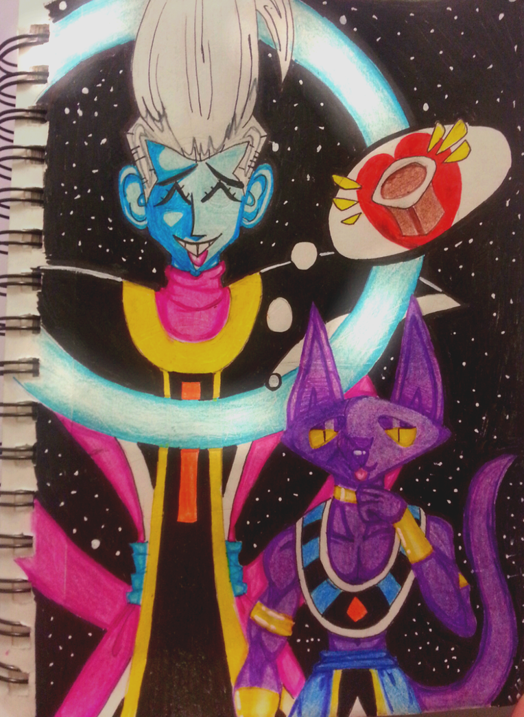 Beerus and Whis Excellent Adventure by GREE-C