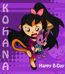 Happy B-Day Kohana