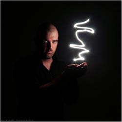 Self Portrait with Light by walker1812