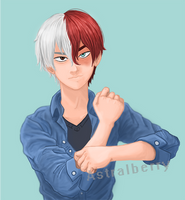 [FANART] Todoroki-BNHA by astral-berry