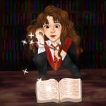 Hermione Granger and the Liberary