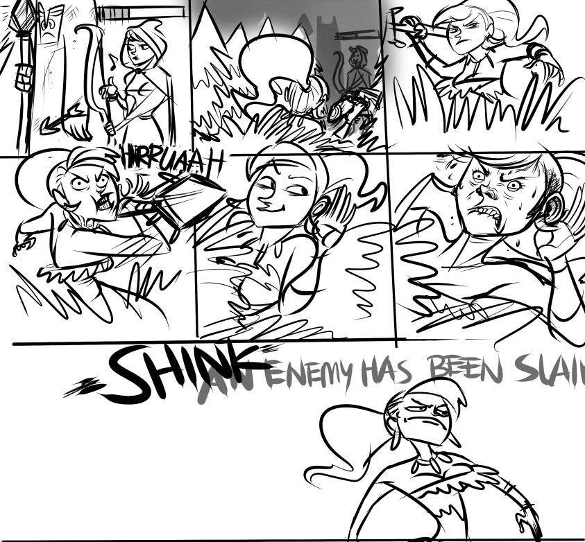 nidalee comic by makani