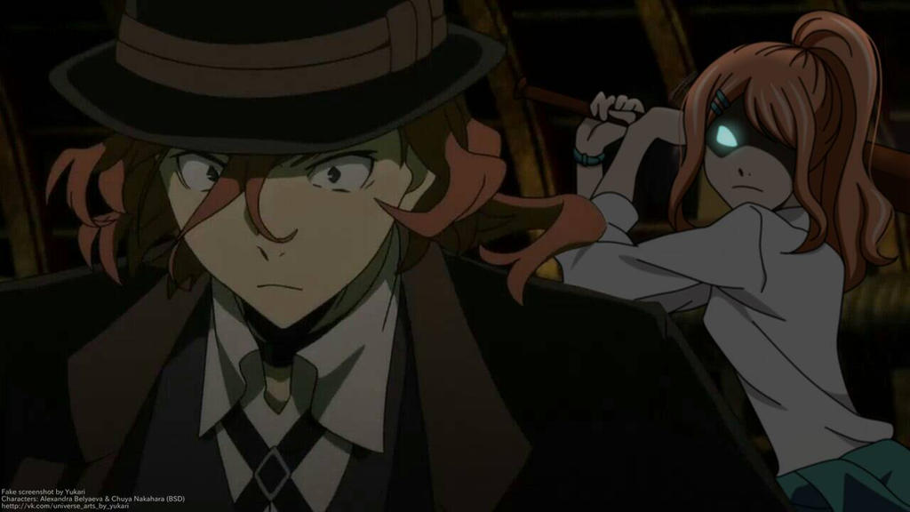[ Fake Screenshot ] You must die, Chuya! by Yukari-Tin