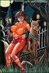 Velma and Scooby by Granamir