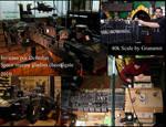 warhammer 40k space marine ship by Granamir update by Granamir