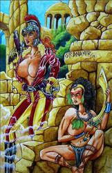 Antagonistas by Granamir by Granamir