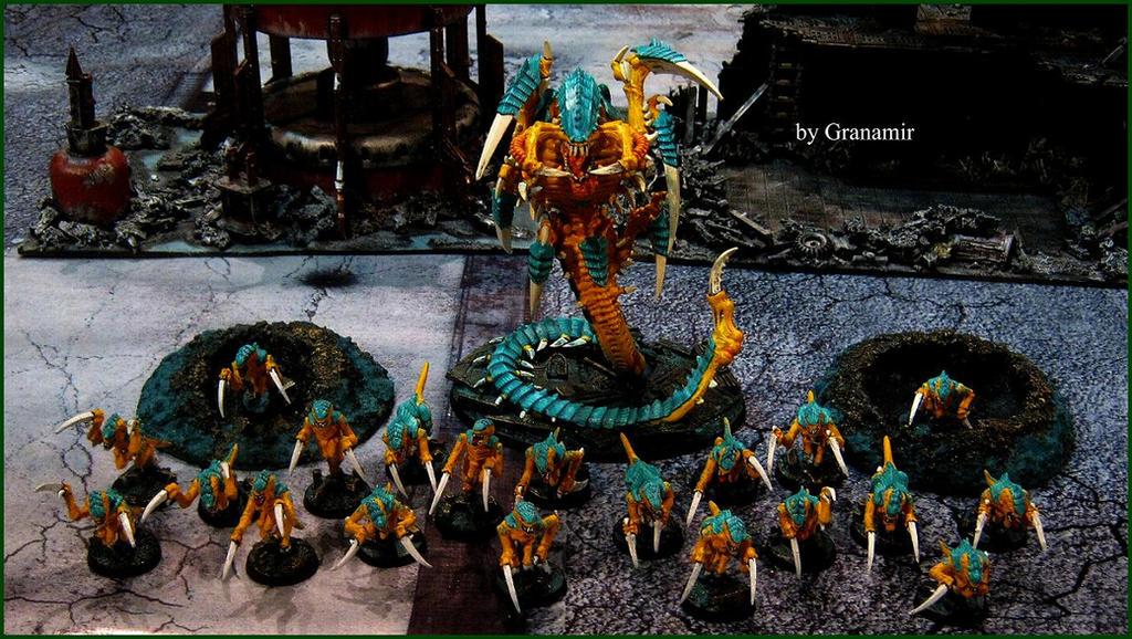 40k Trigon Prime Y Hormagantes by Granamir by Granamir