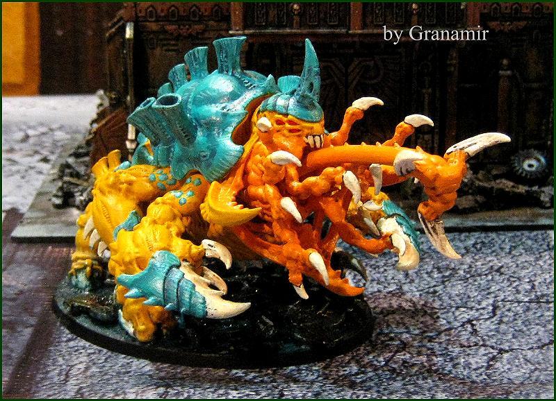 Haruspex tiranido by Granamir by Granamir