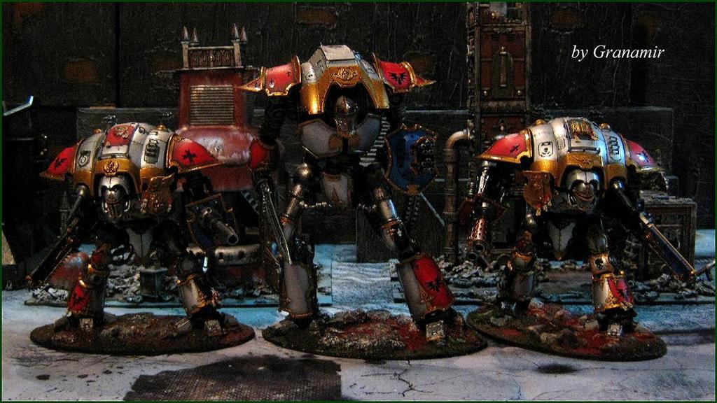 Imperial Knights Army by Granamir by Granamir