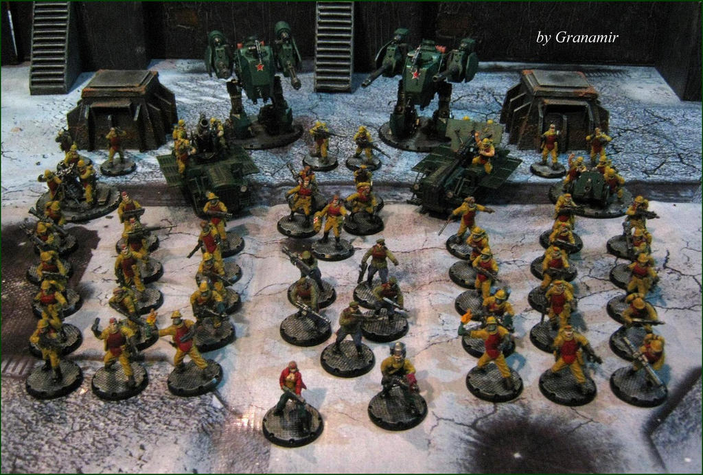 Dust Tactics USS Army 2015 by Granamir by Granamir
