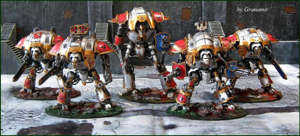 imperial knights full army by Granamir by Granamir