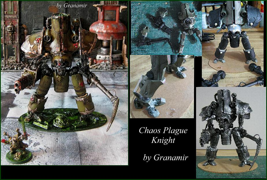 40k Plague knight by Granamir by Granamir
