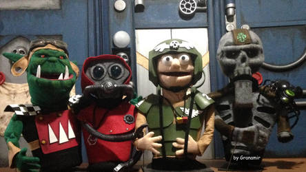 Astra Noticiarium show characters