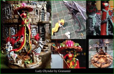 Lady Olynder by Granamir