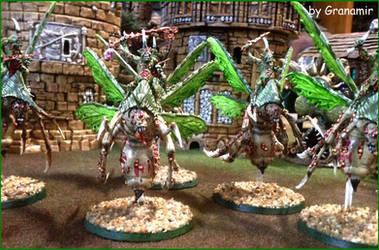 plague drones by Granamir