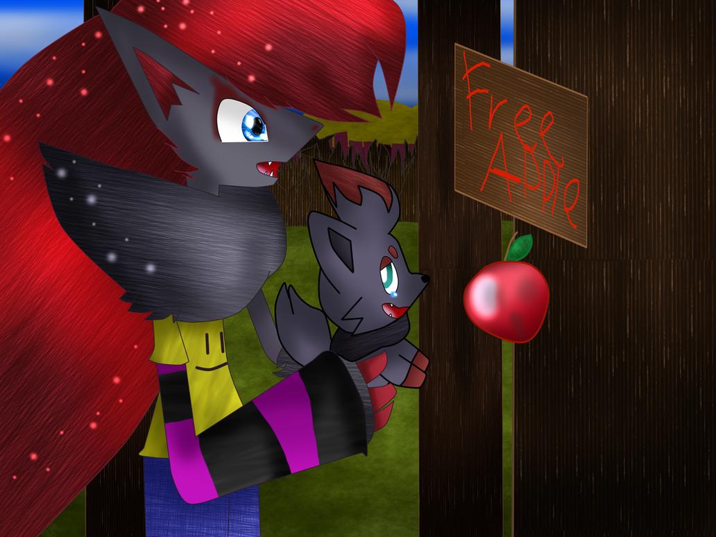 I want the apple by CodyTheZoroark