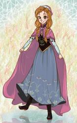 Anna from FROZEN by vocaotaku
