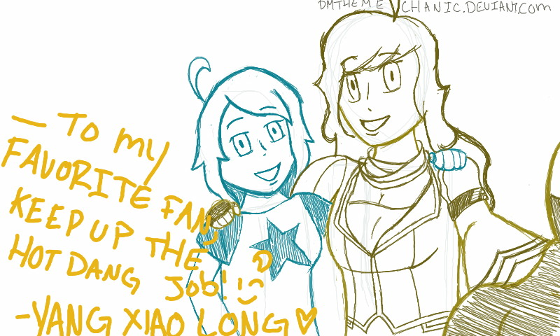 A selfie with Kayden and Yang by DmTheMechanic